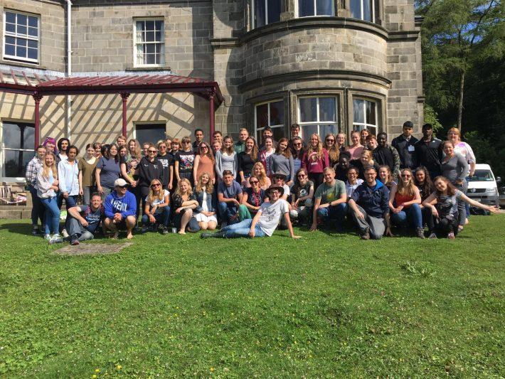 2016 BES Undergraduate Summer School, Malham Tarn