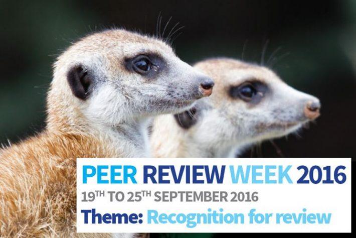 Peer Review Week 2016