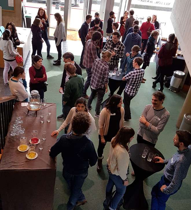 Networking at the BES/ZSL Early Career Workshop