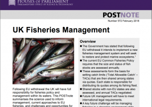 Managing UK fisheries POSTnote