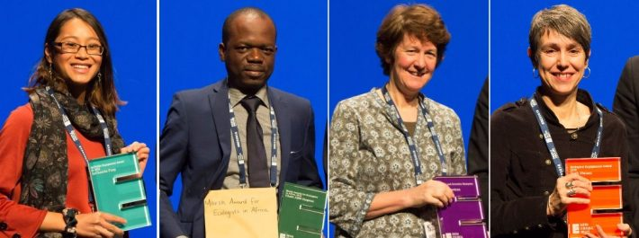 Some of the 2018 BES award winners.