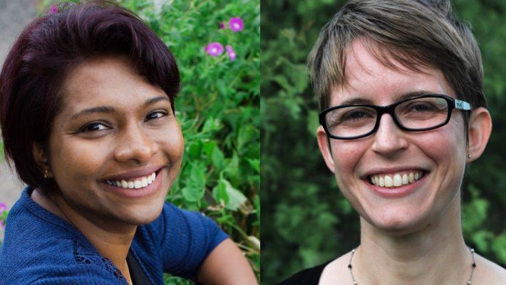 Deepa Senapathi and Bethan O'Leary