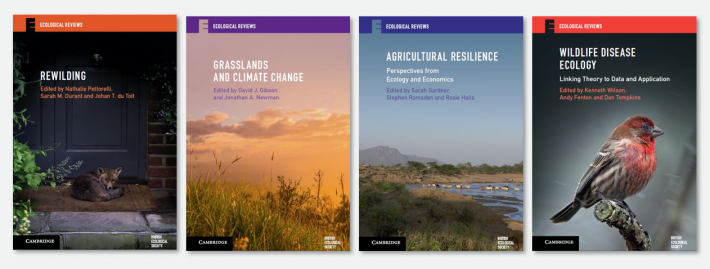 Ecological Reviews book covers