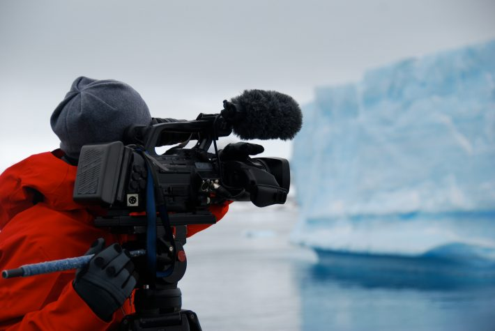 Nature documentary filming