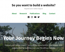 Building a Website on WordPress for Engagement
