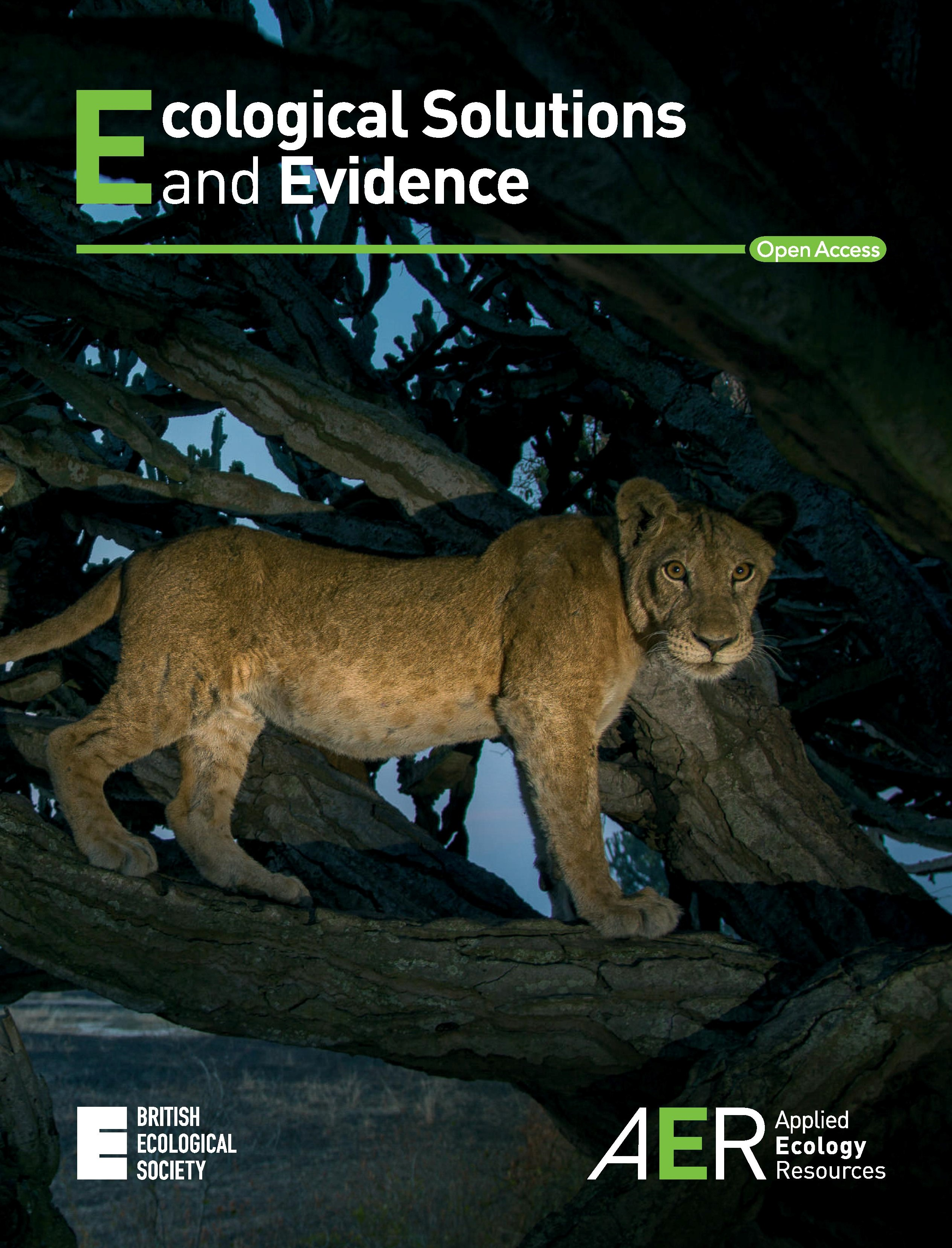 Cover of Ecological Solutions and Evidence