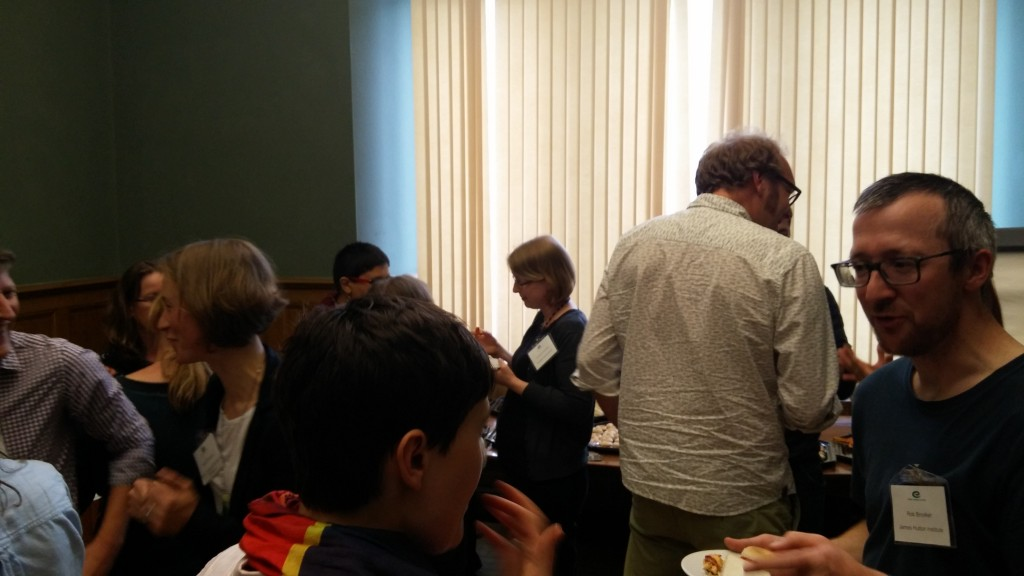 Attendees at Pie and a Pint: Conservation Conflicts