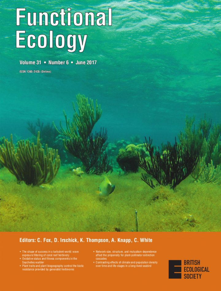 Cover of Functional Ecology