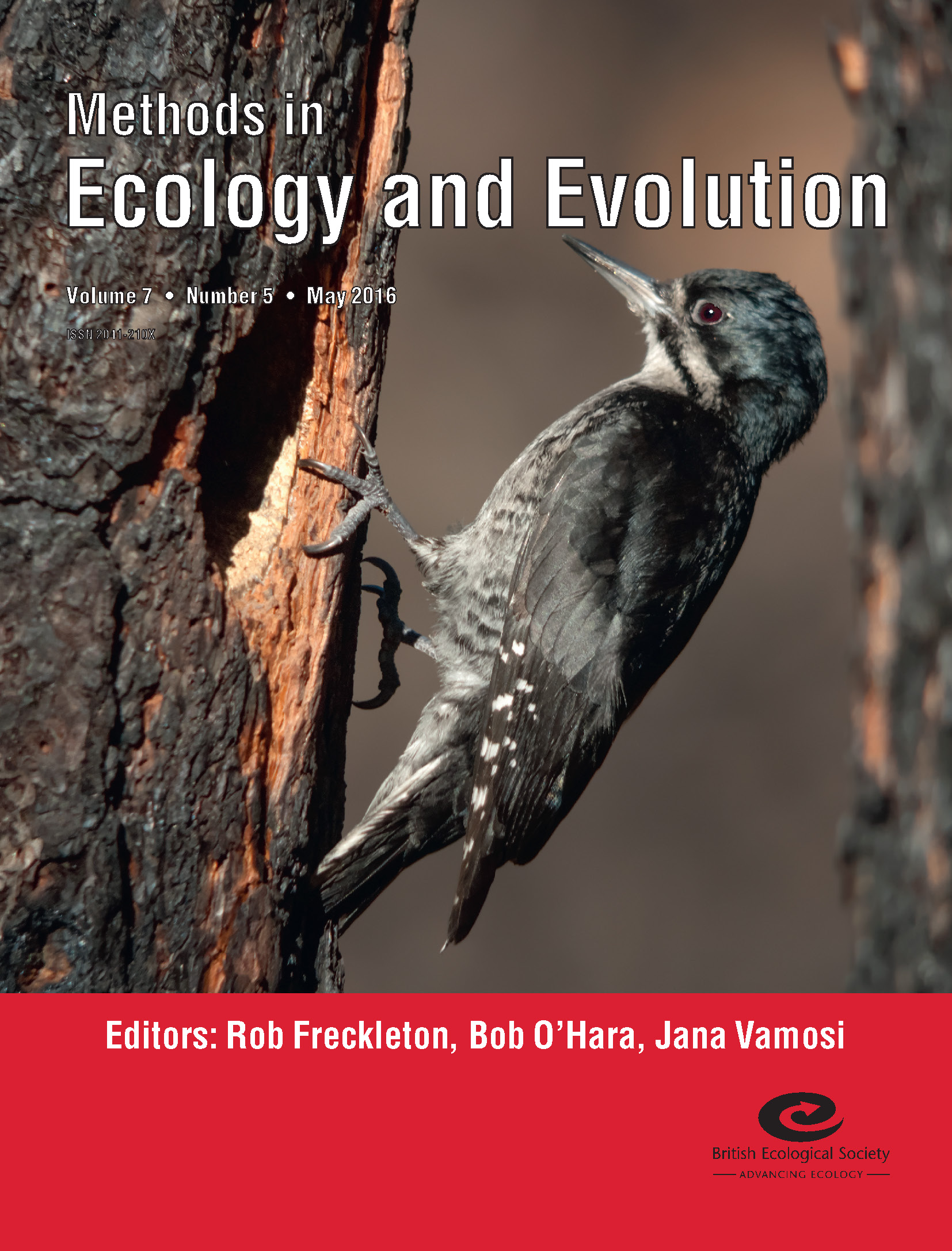Cover of Methods in Ecology and Evolution