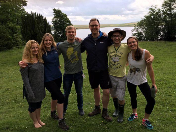 Our Fabulous 2016 mentors, Melanie Edgar, Cassie Raby, Simon Tarr, Scott Davidson, Lewis Bartlett and Catie Gutmann Roberts