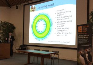 Tim Benton's keynote address opens Scottish Biodiversity Science Conference