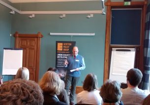 The Scottish Policy Group discuss rewilding at the latest pie and a pint event