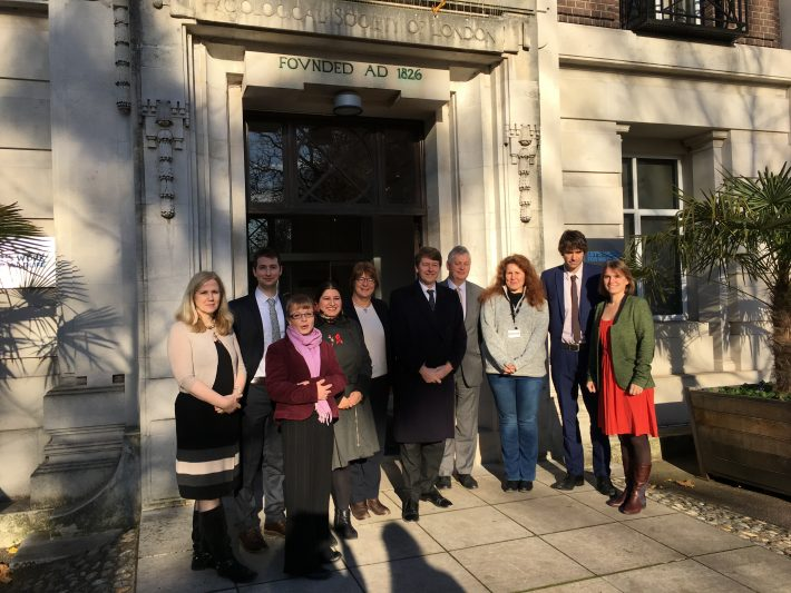 BES and other organisations meet Brexit Minister Robin Walker