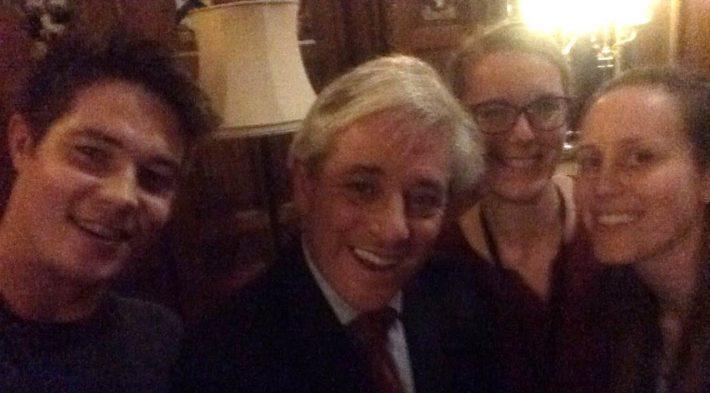 Selfie with The Speaker