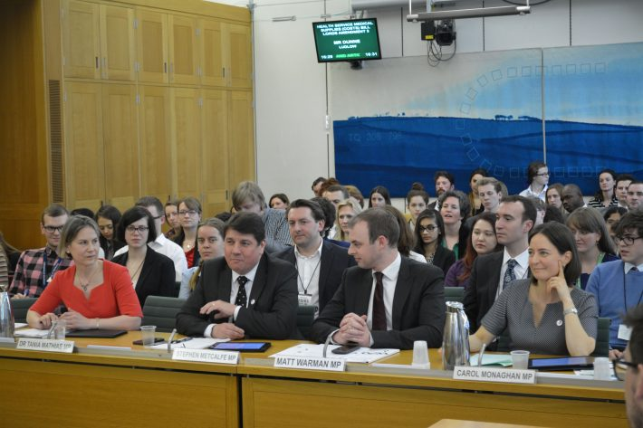 Science and Technology Committee Members face questions at Voice of the Future 2017