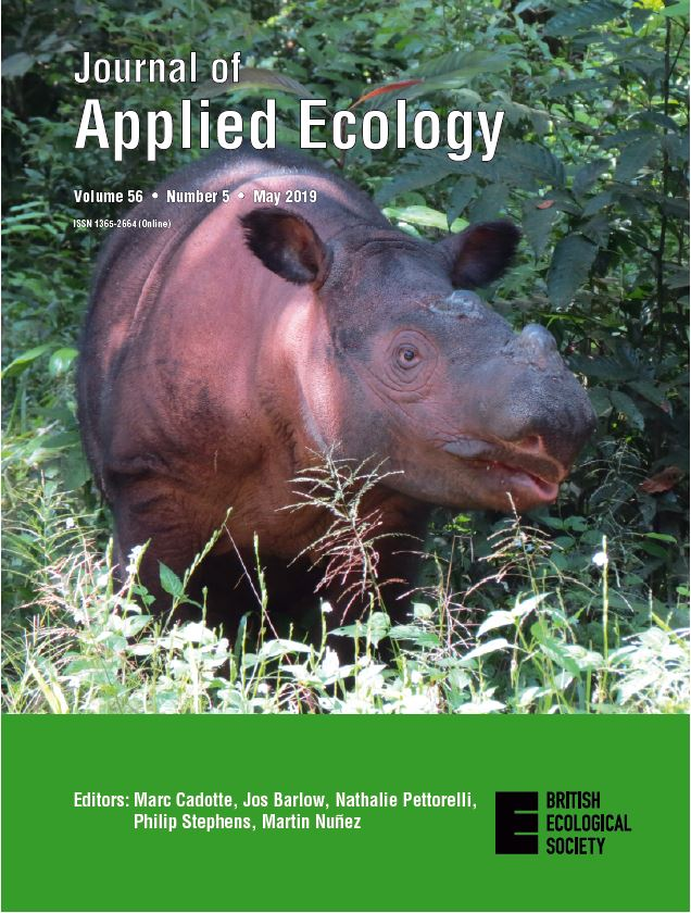 Journal of Applied Ecology - British Ecological Society