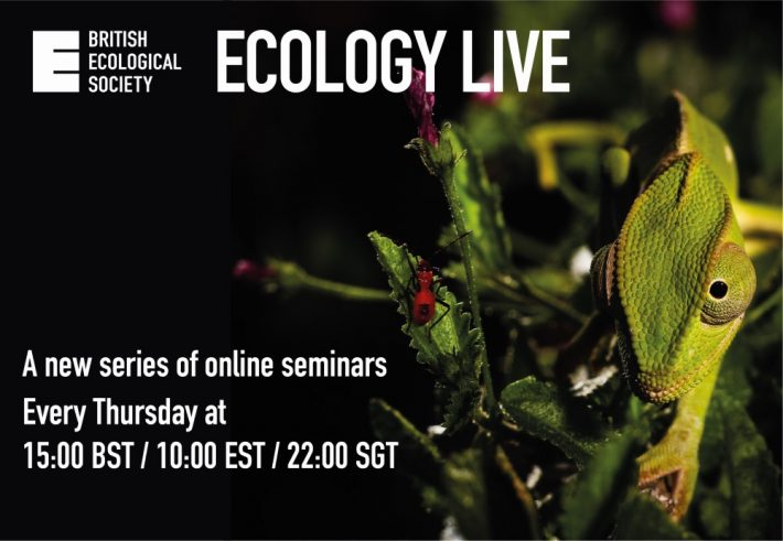 Ecology Live: A new series of online seminars