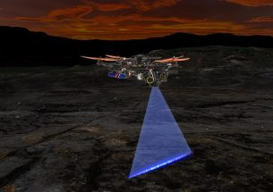 University of Hong Kong - codeveloped automated laser-scanning 'hunter drone'  seeks out fossils, minerals and biological targets