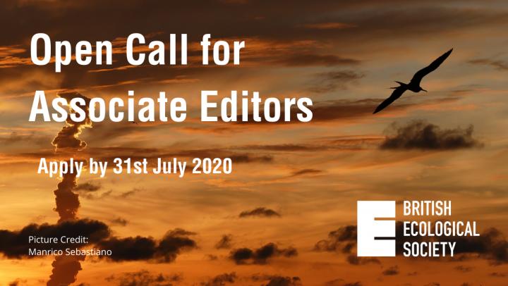 Join the BES journals as an Associate Editor