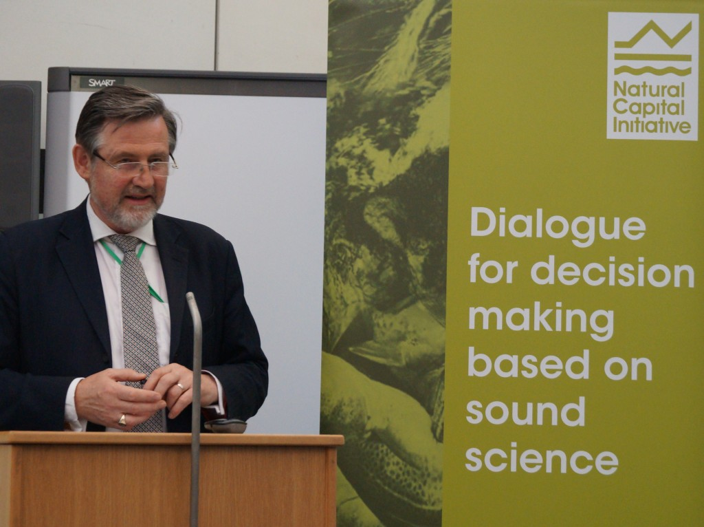 "Barry Gardiner opens the ""Valuing our Life Support Systems"" summit report launch"