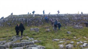 Students limestone pave